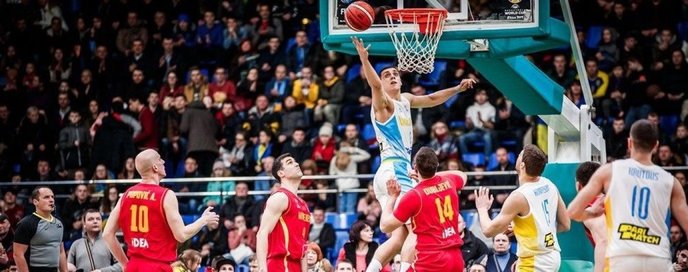 Збірна України з баскетболу програла Чорногорії та не вийшла на ЧС-2019