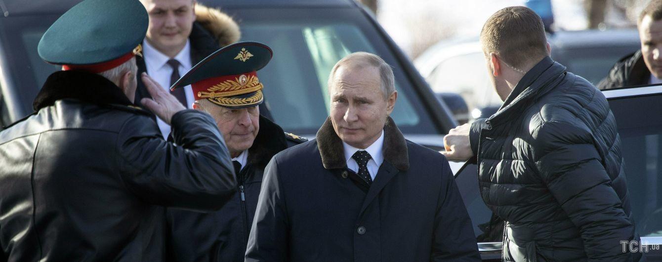 Путин похвастался, что в России за год выявили более полутысячи шпионов