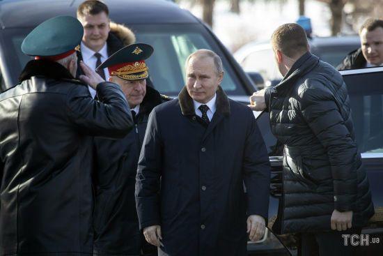 Путін похизувався, що в Росії за рік викрили понад півтисячі шпигунів