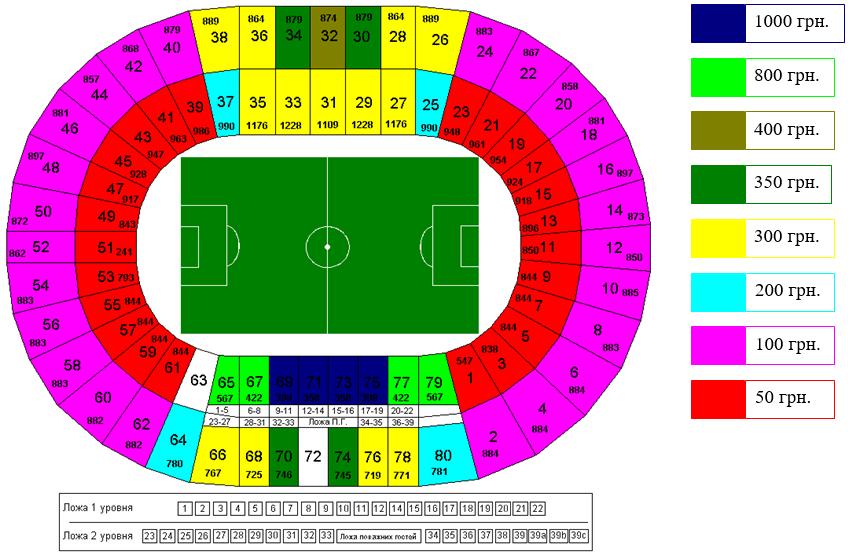 Сколько стоит билет на матч днепр тоттенхэм