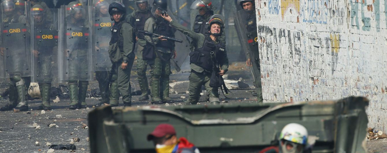 Стало известно о первых погибших в столкновениях на венесуэльской границе