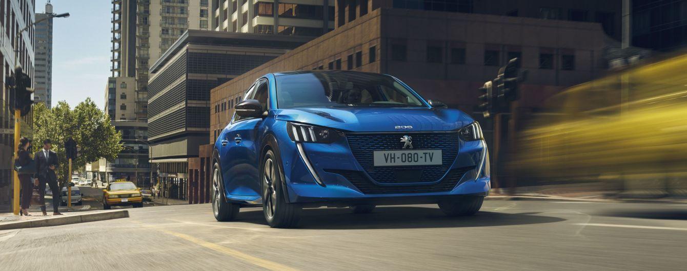 Хетчбек Peugeot 208 став електрокаром