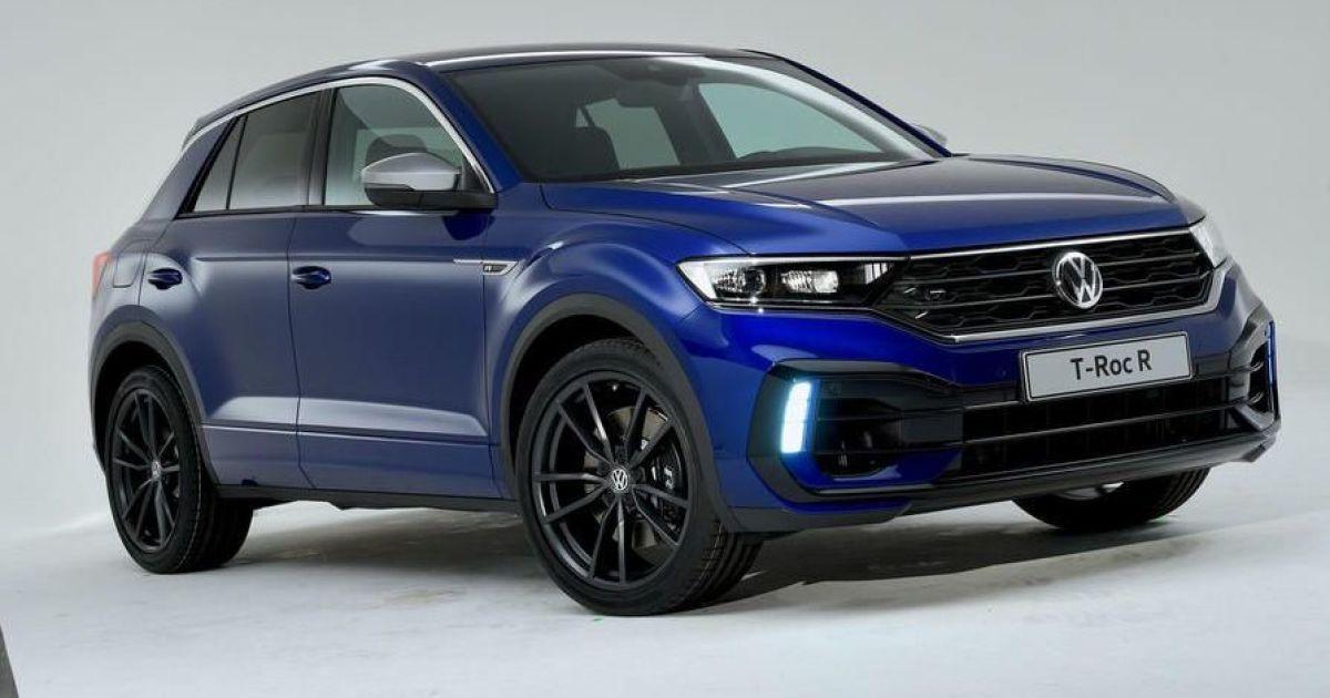 """Кросовер Volkswagen T-Roc отримає """"заряджену"""" версію"""