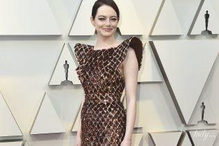 """Це провал: Емма Стоун прийшла на """"Оскар-2019"""" в образі пригорілої вафлі"""