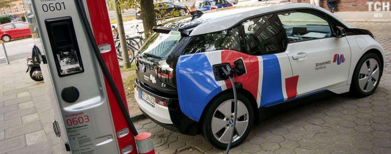 Выяснилось, сколько зарядок для электрокаров есть в Украине