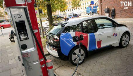 З'ясувалося, скільки зарядок для електрокарів є в Україні