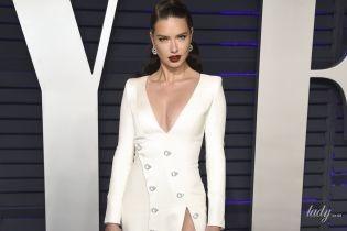 Показала все: Адриана Лима в откровенном наряде приехала на вечеринку Vanity Fair