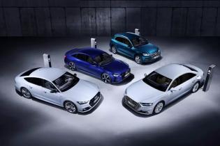 Audi готується випустити чотири гібридних моделі