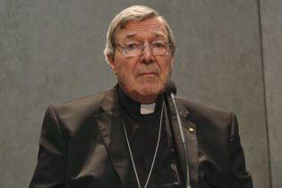 В Австралії одного з найвпливовіших кліриків Ватикану визнали винним у сексуальному насиллі над дітьми