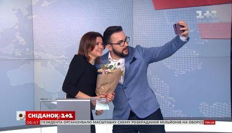 """""""Сніданок"""" поздравляет телеведущую Маричку Падалко с днем рождения"""