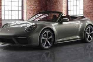 Кабріолет Porsche 911 представили в ексклюзивній обробці