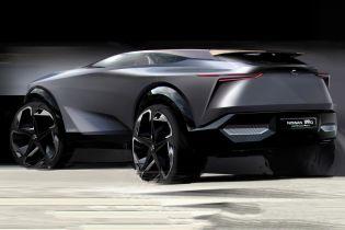Nissan показав концепт кросовера IMQ на новому ескізі