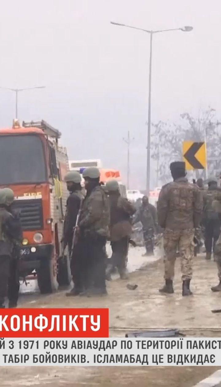 Президент Пакистана предупредил Индию о адекватном ответе после авиаудара по Кашмиру