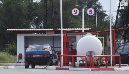 В Украине упали цены на автогаз до 60 копеек за литр