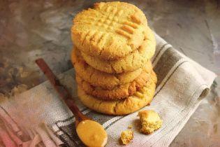 Ароматное печенье с арахисовой пастой