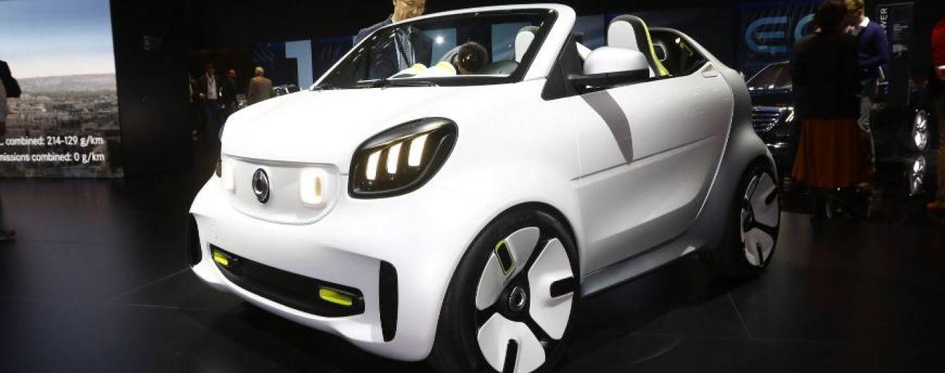 Smart готовится представить флагманский электрокар