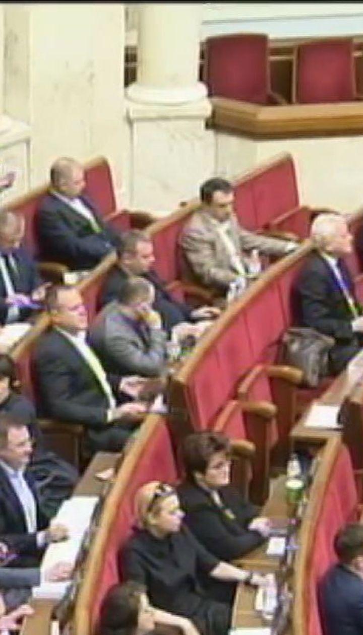 В парламенте обсуждают создание временной следственной комиссии за разворовывания в оборонной сфере
