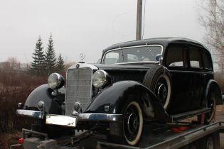 Коллекционный Mercedes-Benz 1938 года засветился в Хмельницком