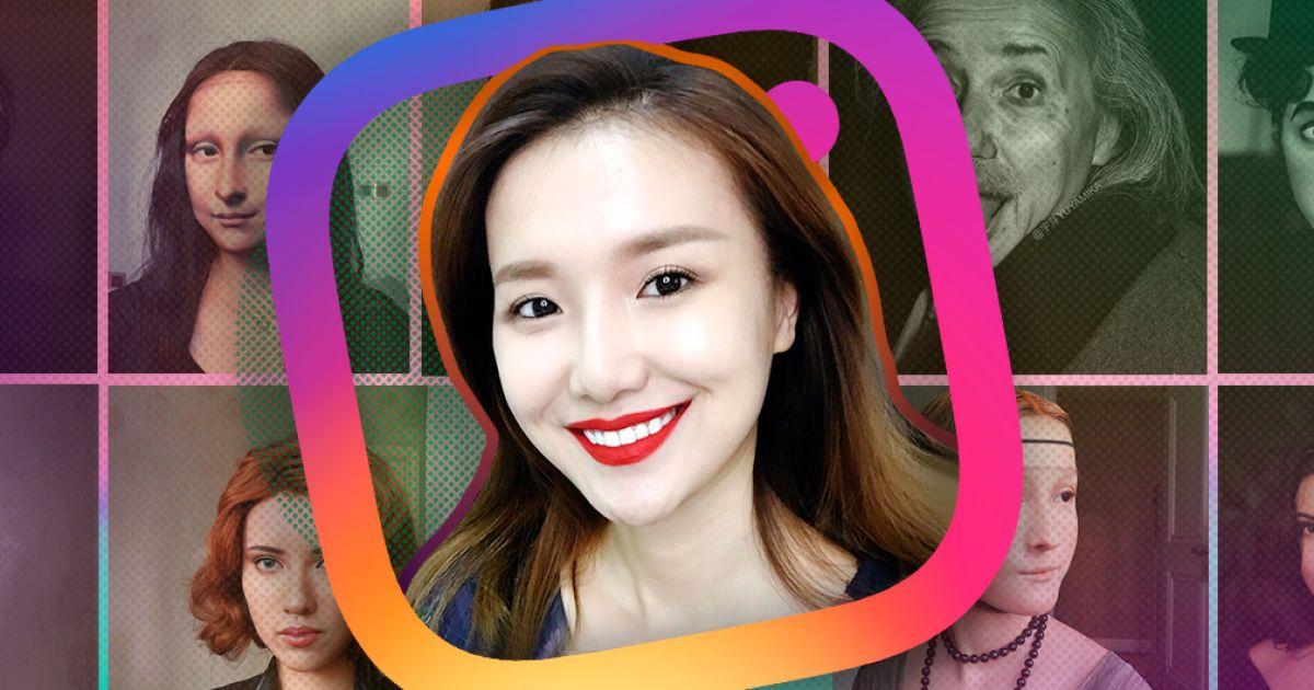 Джонни Депп и Мона Лиза: невероятные перевоплощения визажистки из Китая в знаменитостей в Instagram