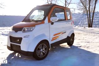 Без регистрации и за $3,5 тысячи. Тест-драйв самого маленького электрокара в Украине