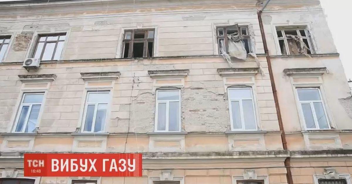 В центре Черновцов от взрыва газового котла разрушены две квартиры