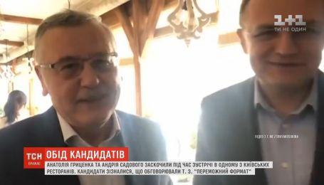 Садового и Гриценко заметили в одном из киевских ресторанов во время общего обеда