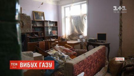 В Черновцах от взрыва газового котла разрушено две квартиры