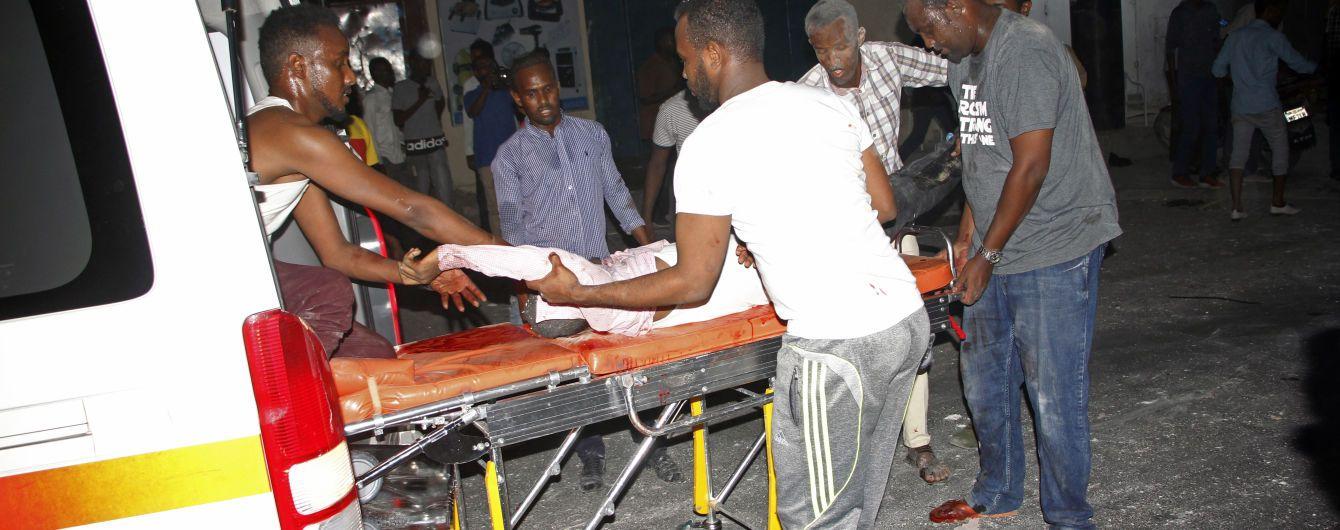 Теракт в отеле Сомали. Количество жертв превысило два десятка