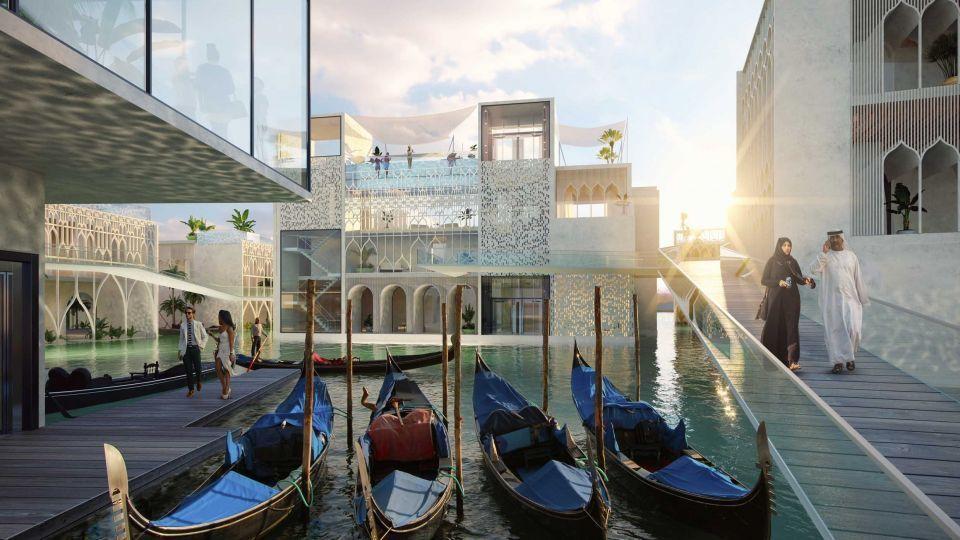 Плавучая Венеция ОАЭ
