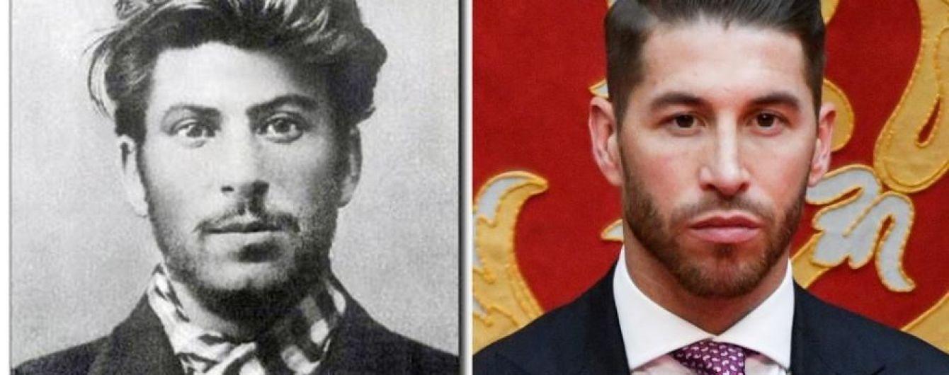 ЗМІ знайшли двійників футболістів: Рамоса порівняли зі Сталіним, Коутіньо — з герцогинею
