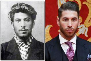 СМИ нашли двойников футболистов: Рамоса сравнили со Сталиным, Коутиньо - с герцогиней