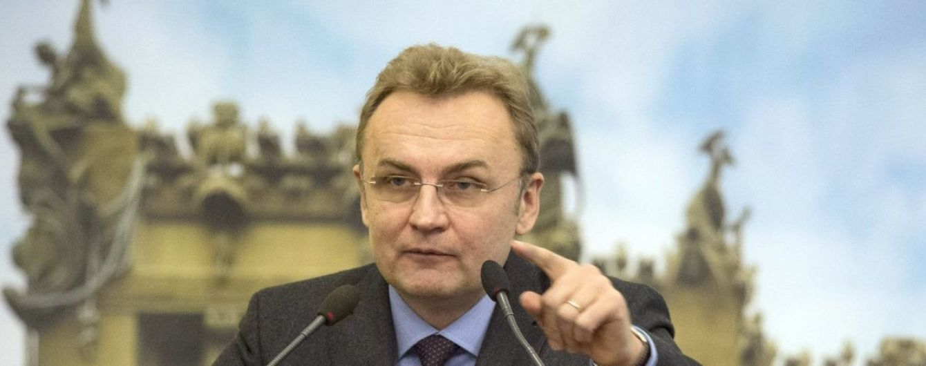 """Садовый заявил, что Порошенко предлагал ему остановить """"мусорную блокаду"""" Львова в обмен на лояльность"""