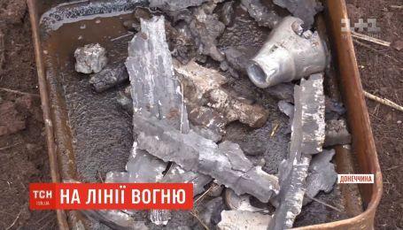 Около 30 тяжелых снарядов выпустили боевики по окраине села Травневое