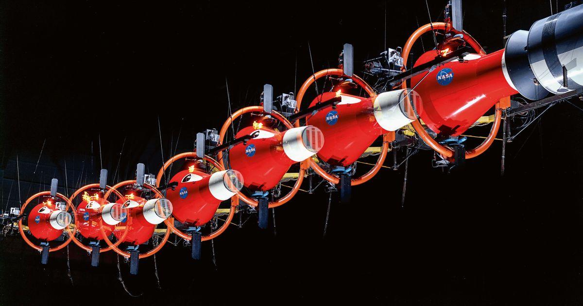 Симулятор стикування, який підготував астронавтів місії Джеміні до дивної фізики космічного польоту.