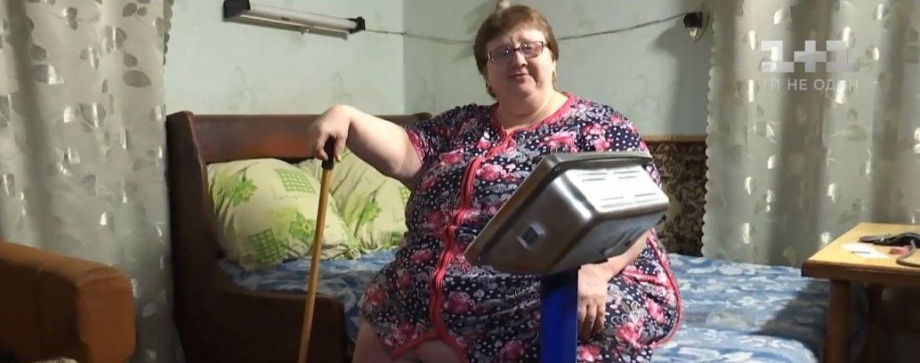 Заложница своего тела: одной из самых тяжелых женщин в Украине сделали сложную операцию по уменьшению желудка