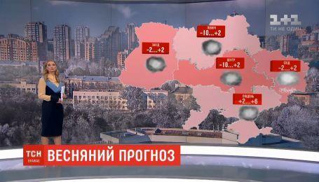В первые выходные марта в Украину вернутся морозы
