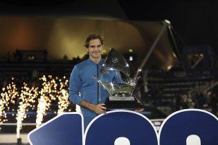 Фантастический Федерер выиграл 100-й титул в карьере