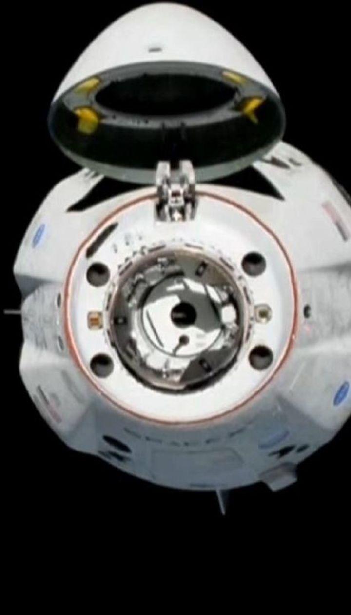 Корабль Crew Dragon компании SpaceX успешно прикрепился к МКС