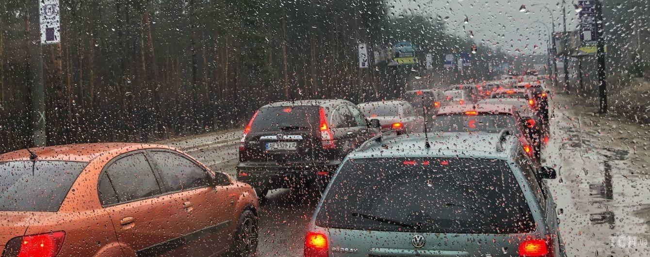 Погода на п'ятницю: в Україні місцями невеликий дощ та мокрий сніг