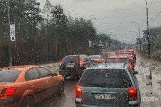 Погода на пятницу: в Украине местами небольшой дождь и мокрый снег