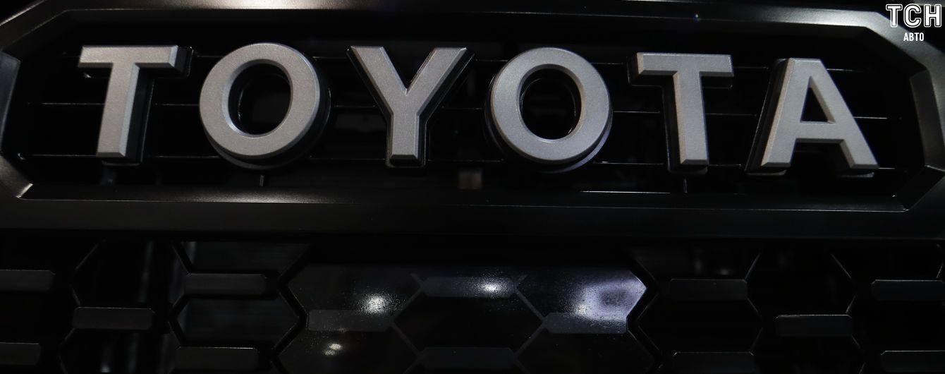 В Одессе изъяли контейнер с поддельными автозапчастями Toyota