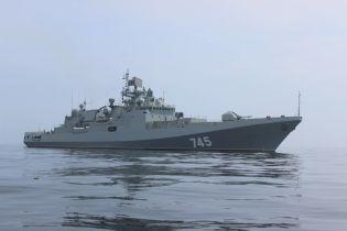 В оккупированном Севастополе на ракетном фрегате Черноморского флота РФ погиб солдат