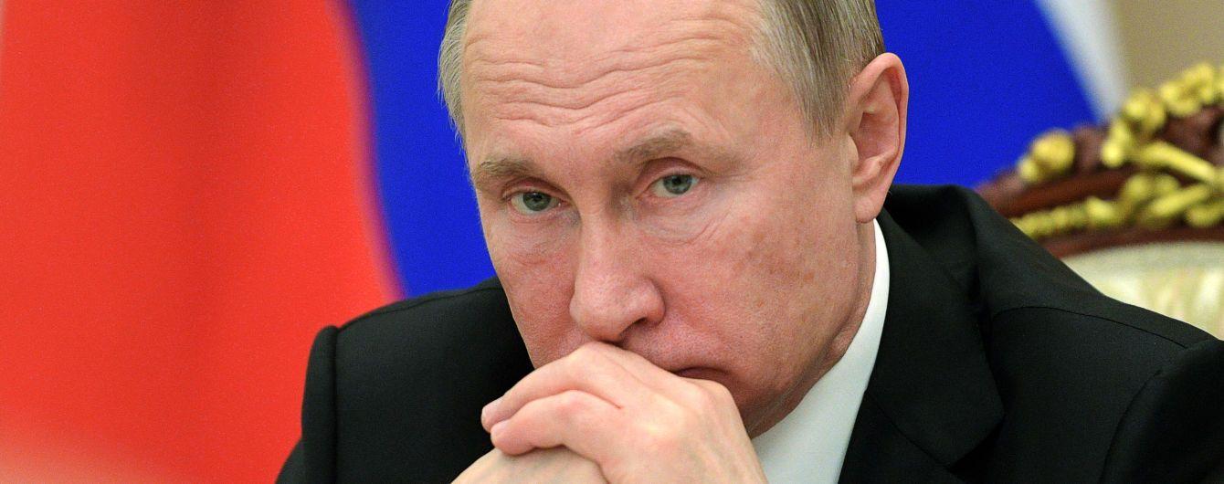 Путін оприлюднив свою декларацію. За рік він заробив менше за Медведєва