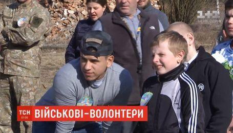 Американські військовики взяли під опіку інтернат на Львівщині