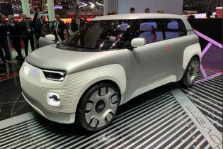 Fiat представил функциональный электрокар-конструктор