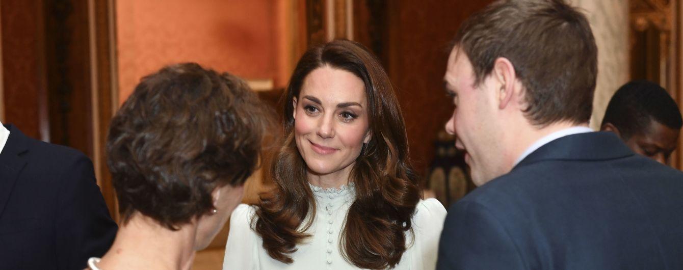Беременная Меган и нежная Кейт с мужьями посетили торжественный прием в Букингемском дворце