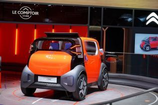Citroen официально представил городской электрокар AmiOne