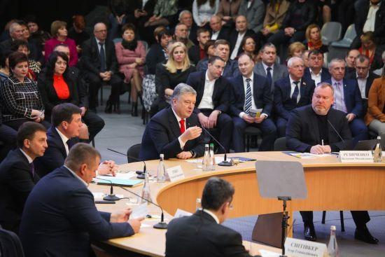 Петро Порошенко: Дніпропетровська область - лідер децентралізації