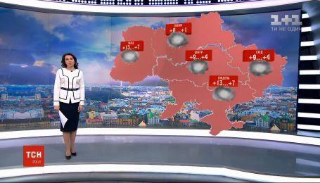 В Украине сохранится плюсовая температура, но будет пасмурно