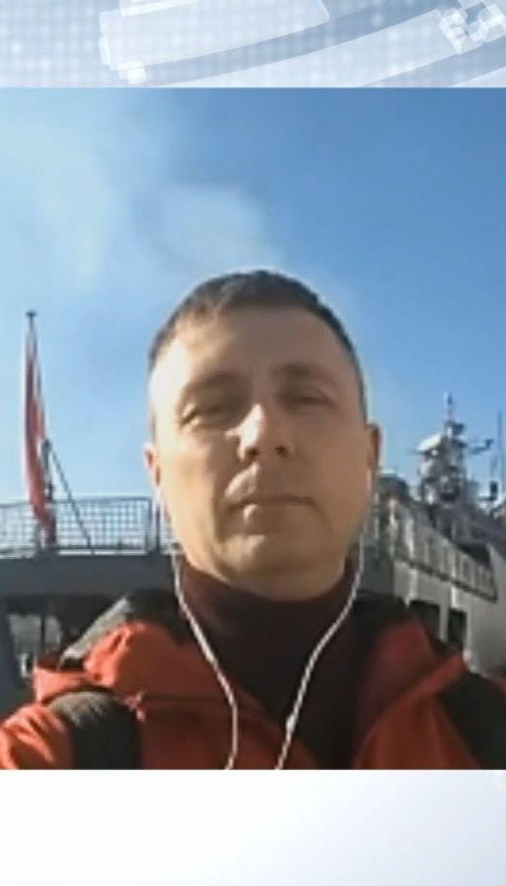 """До Одеси зайшли ракетний катер """"Марті"""" та фрегат """"Барбарос"""" турецького флоту"""